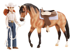 Breyer Let's Go Riding Western Set disco'd for 2018