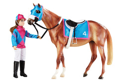Breyer Let's Go Racing set disco'd for 2018