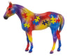Breyer decorator QH Yearling Autism Benefit model