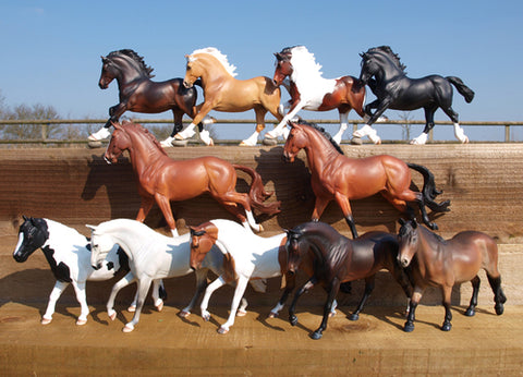 Copperfox Model Horses 2016 range of models