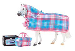 Breyer Going to the Horse Show accessories Set disco'd for 2018