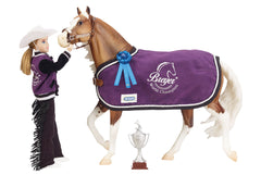 Breyer Winners Circle Accessory set - Western disco'd for 2018