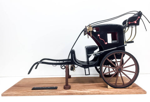 1834 Hansom Cab in 1:12 scale for sale at Triple Mountain