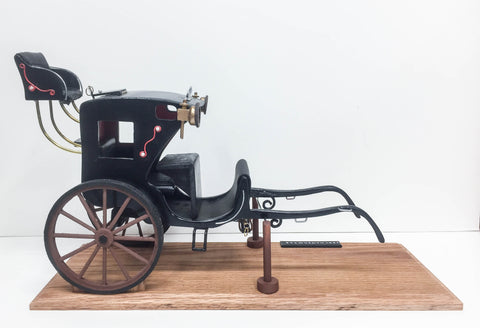 handcrafted 1834 hansom cab 1:12 scale