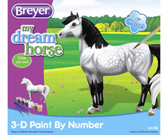 Breyer My Dream Horse Paint-by-Number Dapple Grey