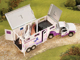 Breyer Stablemates Truck & Slant-Load Trailer at Triple Mountain