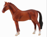 CollectA Hanoverian Stallion, Sorrel #88432 at Triple Mountain