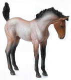 CollectA Mustang Foal, Bay Roan - Disco'd for 2017