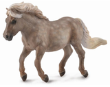 CollectA Shetland Pony, Silver Dapple at Triple Mountain