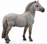 CollectA Fjord Stallion, Grulla - Disco'd for 2017