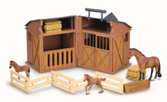 CollectA Stable Set with Three Horses - Disco'd for 2017