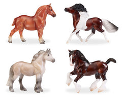 Breyer British Ponies and Draughts 4-Piece Set disco'd for 2018