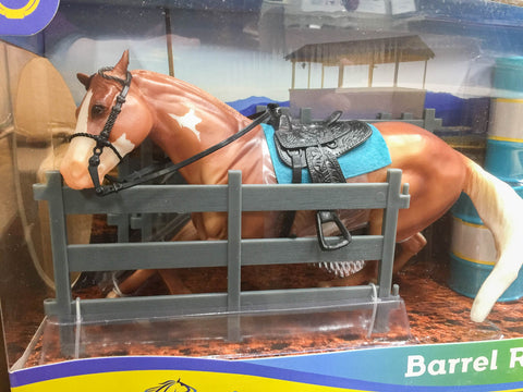 Breyer 2019 Classic Barrel Racer Palomino Paint at Triple Mountain