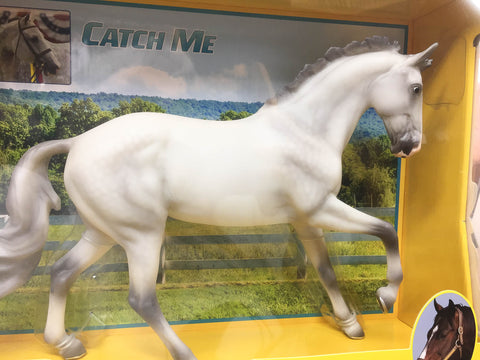 Breyer 2019 Cantering Warmblood Catch Me at Triple Mountain
