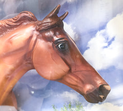 Breyer California Chrome at Triple Mountain