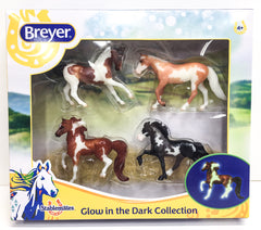 Breyer 2018 Stablemate Set Glow in the Dark at Triple Mountain