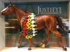 Breyer Traditional Justify Triple Crown Champion Thoroughbred at Triple Mountain