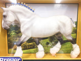 Breyer Shire Gelding, Grey at Triple Mountain