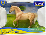 Breyer Freedom Series Palomino Morgan at Triple Mountain