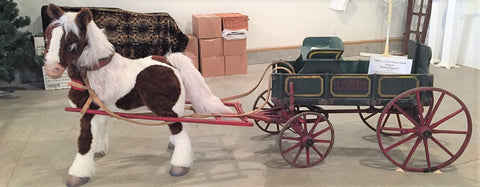 Child's Goat-Drawn Wagon at Skyline Farm Museum