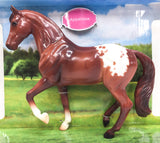 Breyer Freedom Series Chestnut Appaloosa #937