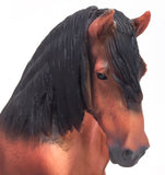 Breyer by CollectA Ardennes Stallion at Triple Mountain