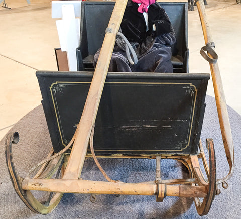 Sleigh with Offset, Hinged Shafts at Skyline Farm Museum