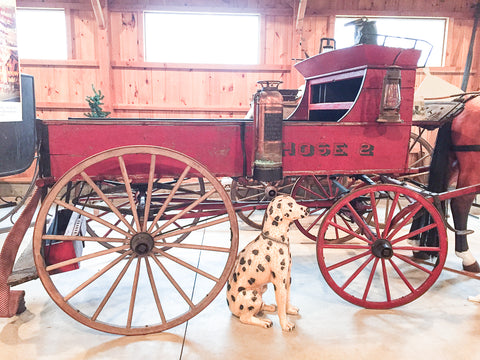 Fire Hose Wagon at Skyline Farm Museum