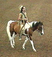 GaWaNi Pony Boy and Kola at Breyerfest 1998