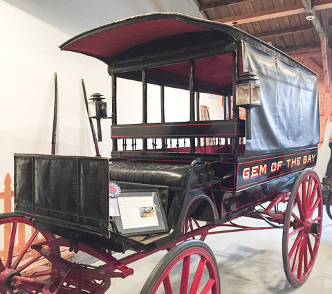 Gem of the Bay Wagonette at Skyline Farm Museum
