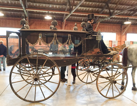 Horse-Drawn Hearse at Skyline Farm Museum