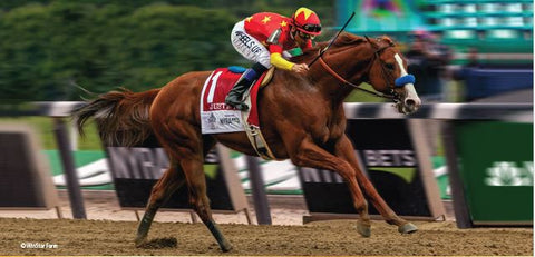 Justify, Triple Crown Winner - Photo courtesy Breyer Horses