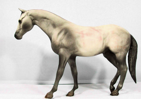 Breyer Rugged Lark stained from wrappings