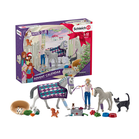 Schleich Horse Club Advent Calendar for Horse Lovers at Triple Mountain