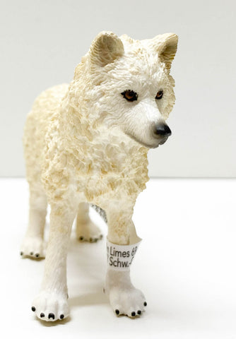 Schleich Arctic Wolf at Triple Mountain