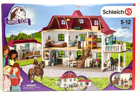 Schleich Large House and Horse Stable at Triple Mountain