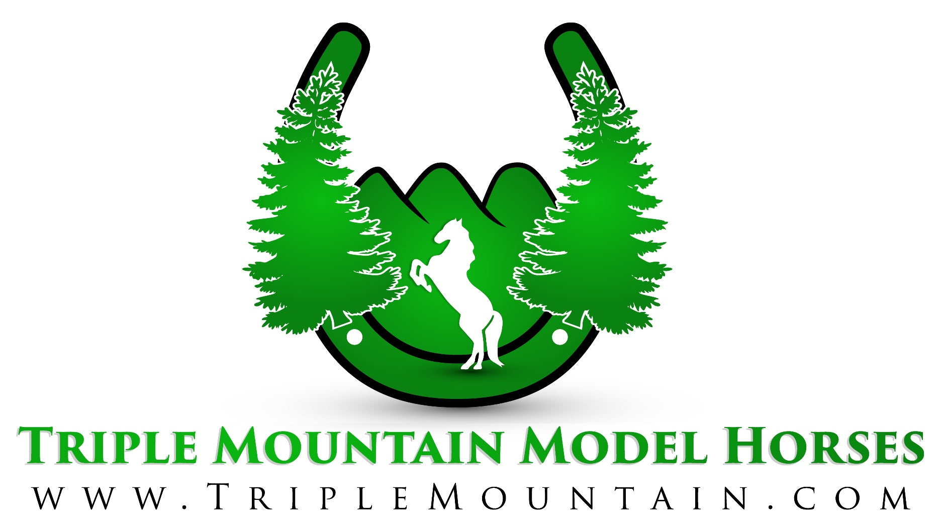 Triple Mountain Model Horses logo