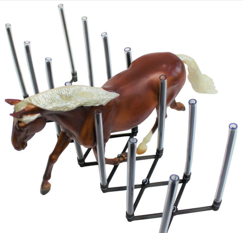Horse Rack for Breyer and Peter Stone Models - Made in USA - Triple Mountain Exclusive