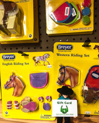 Triple Mountain gift cards can be used for Breyer tack and accessories!