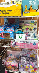 Triple Mountain gift cards can be used for Breyer mystery blind bags of model horses!