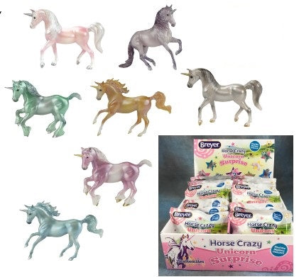 Breyer Stablemates Unicorn Blind Bags surprise unicorns at Triple Mountain