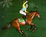 Breyer American Pharoah Christmas Ornament 2016