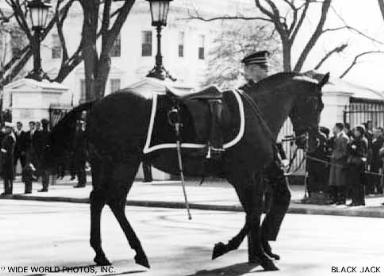 Black Jack and Andy Carlson in JFK Funeral Procession