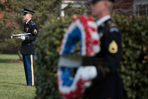 Wreath Laying at Black Jack's grave Feb 6 2016