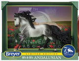 Breyer Andalusian Stallion Dapple Grey 70th Anniversary at Triple Mountain