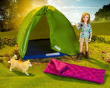 Breyer Camping Adventure Set with Riley at Triple Mountain
