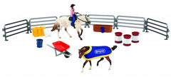 Breyer Stablemates Western Play Set at Triple Mountain