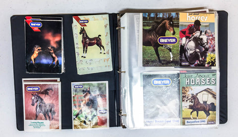 Breyer brochures and catalogs at Triple Mountain