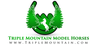 Triple Mountain Model Horses