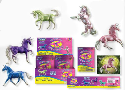 Breyer Mini Whinnies Unicorns at Triple Mountain